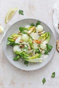 Sommerlicher Caesar Salad