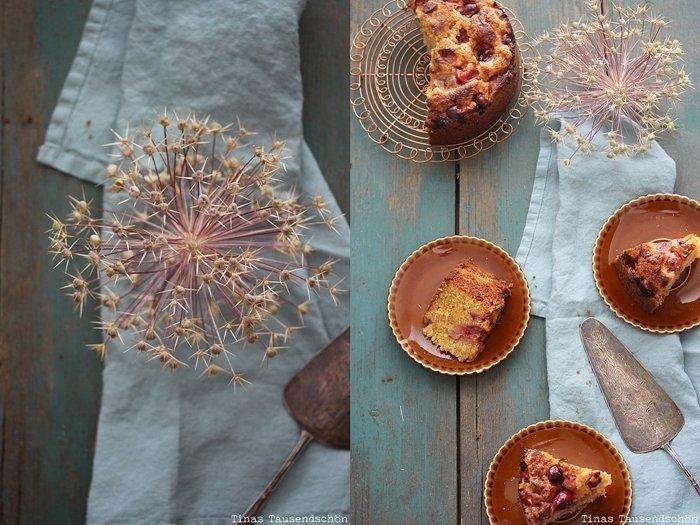 Karamell Stachelbeer Kuchen
