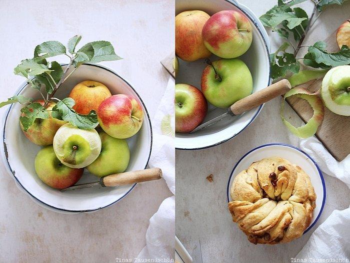Apfelkränze