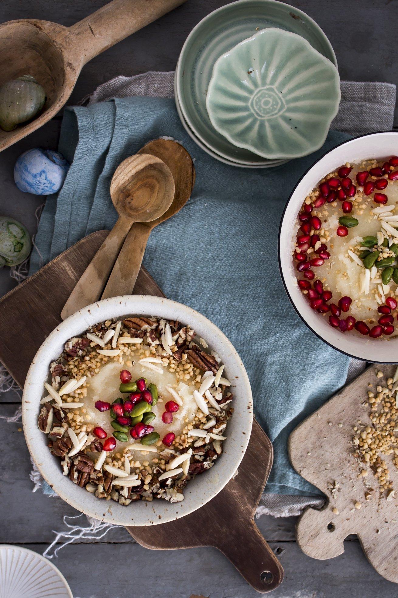 Mamounia - ein syrischer Griespudding! Die kulinarische ...
