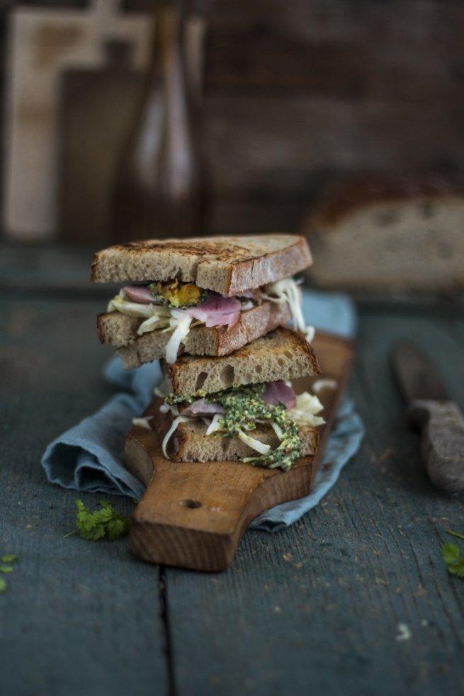 Badisches Schäufele Sandwich
