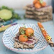 Thunfisch und Papaya Chili Salat
