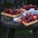 Tartelettes mit roten Beeren