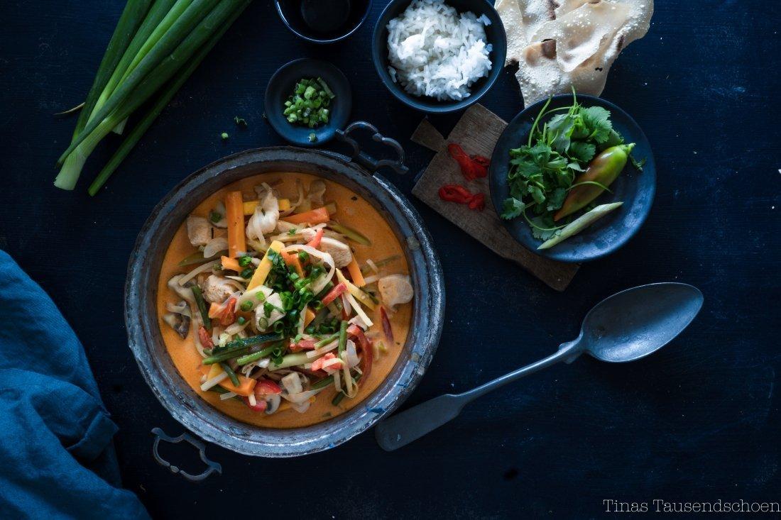 Red Thai Chicken Curry