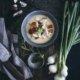 Kokos Suppe mit Hühnchen