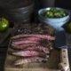 Flank Steak mit grüner Tomaten Salsa