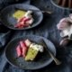 Pistazien Rührkuchen mit Rhabarbertopping