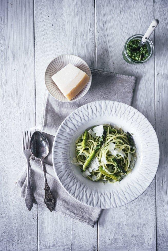 Bärlauch Pesto Pasta