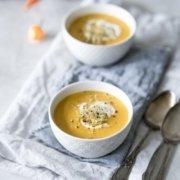 Scharfe Möhren Kokos Suppe