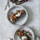 Auberginen Lavendel Caponata mit Burrata
