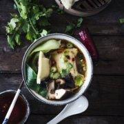 Schwäbische Wan Tan Suppe