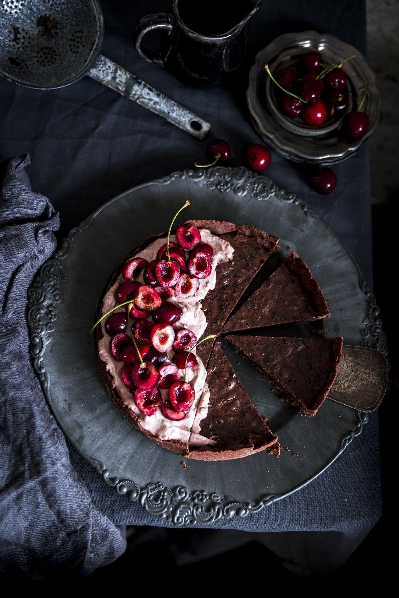 Schwarzwälder Kirsch Kuchen