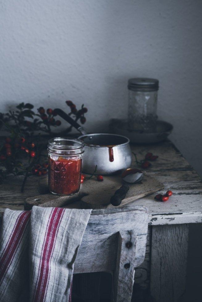 Hagebutten Marmelade