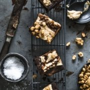 Snickers Erdnuss Brownies
