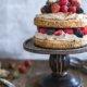 Cappuccino Torte mit Mascarpone und Beeren