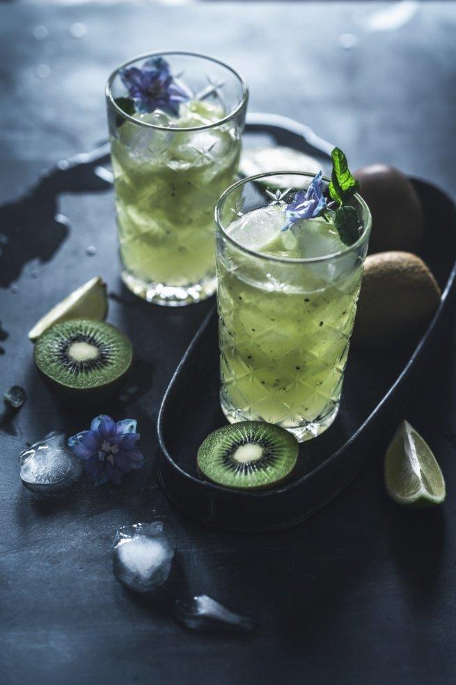 Kiwi Gin Fizz