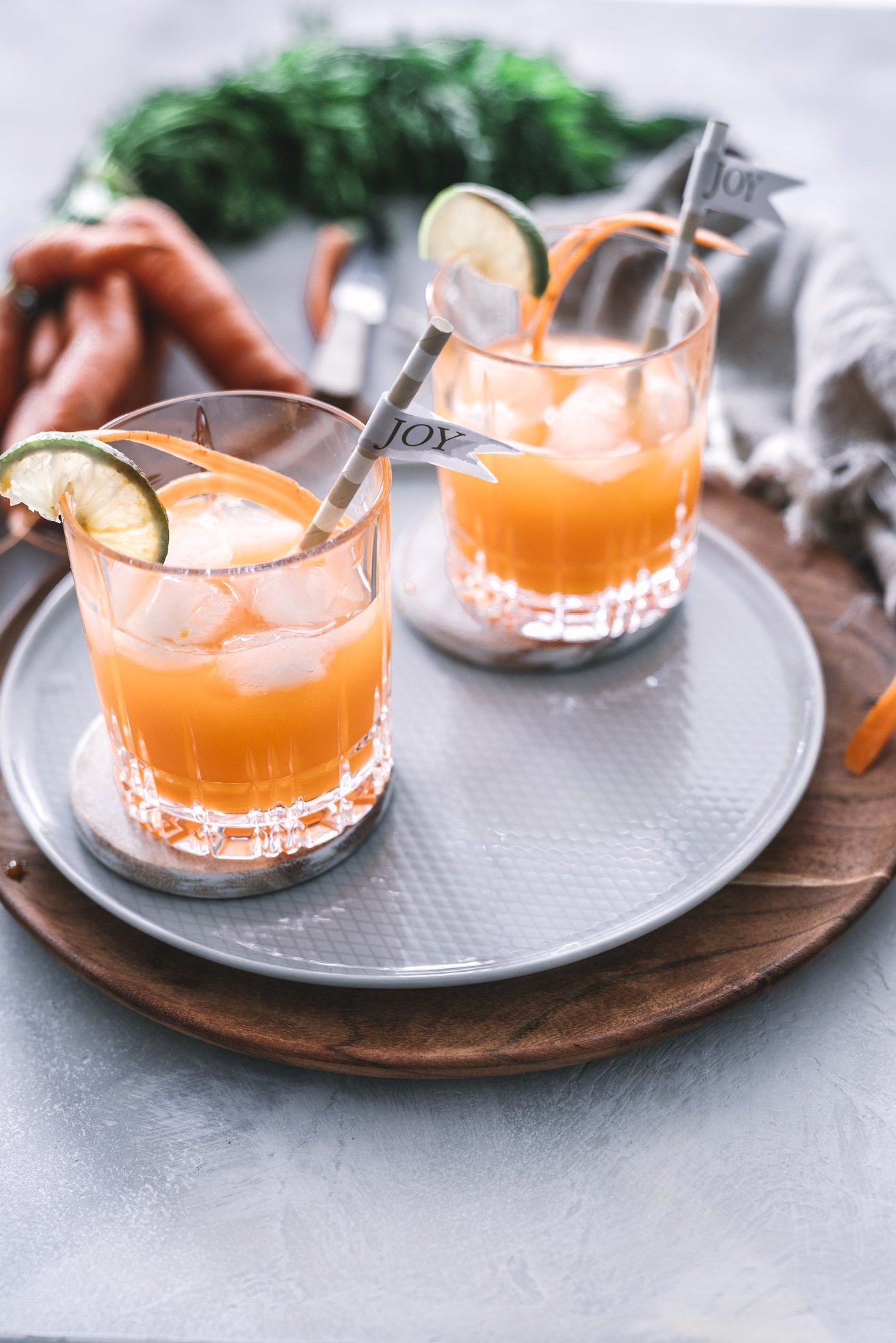 Carrot Ginger Shot