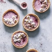 Be my Valentine! Himbeer Panna Cotta Tartlettes