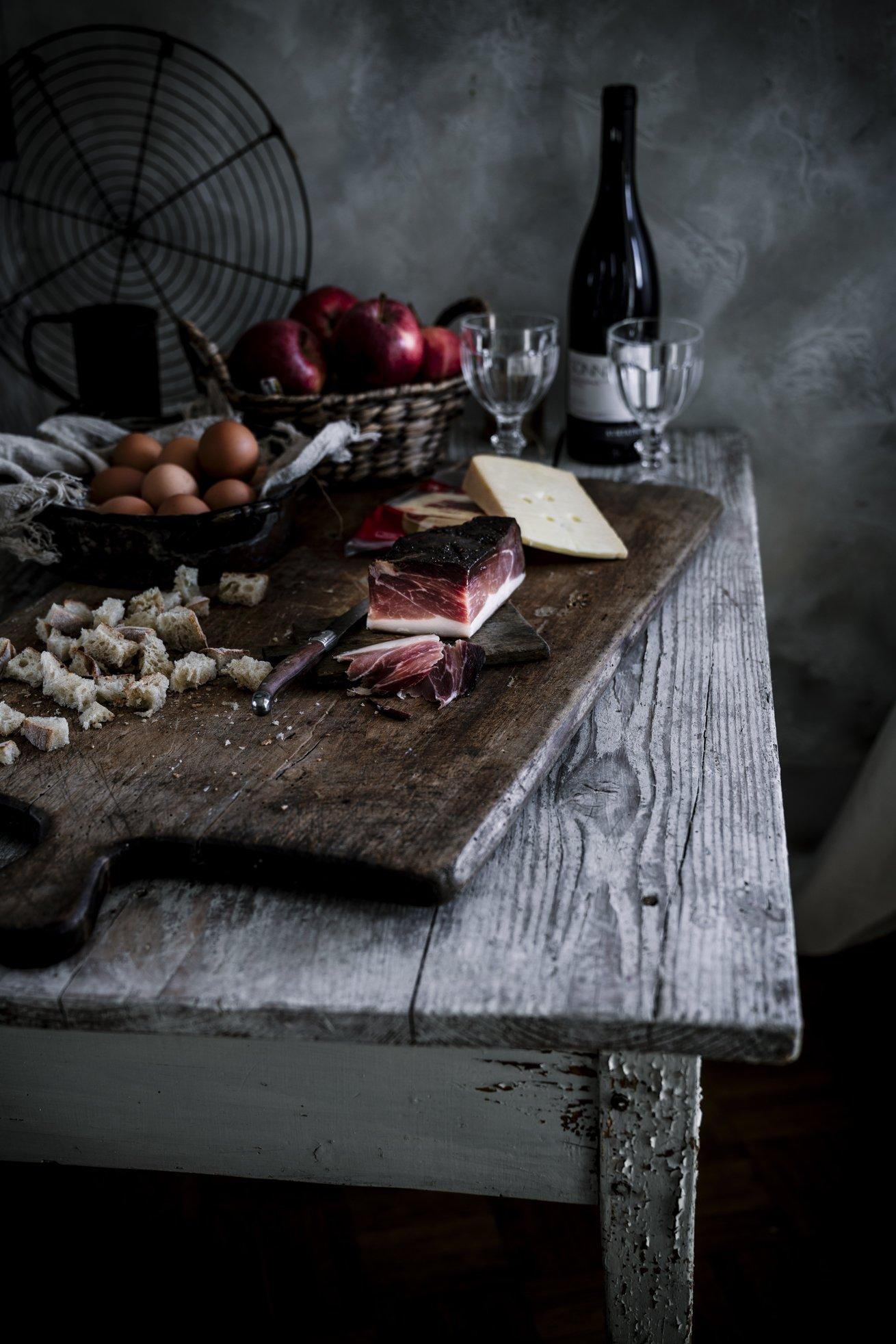 Südtiroler Speck und Käse