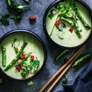 Green Asparagus Curry