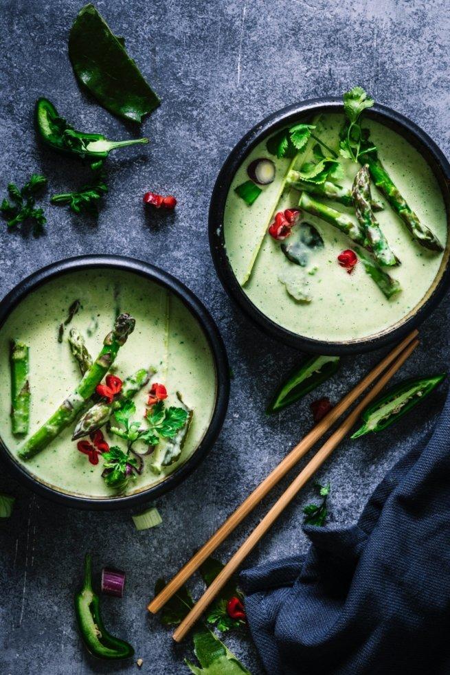 Green Asparagus Curry