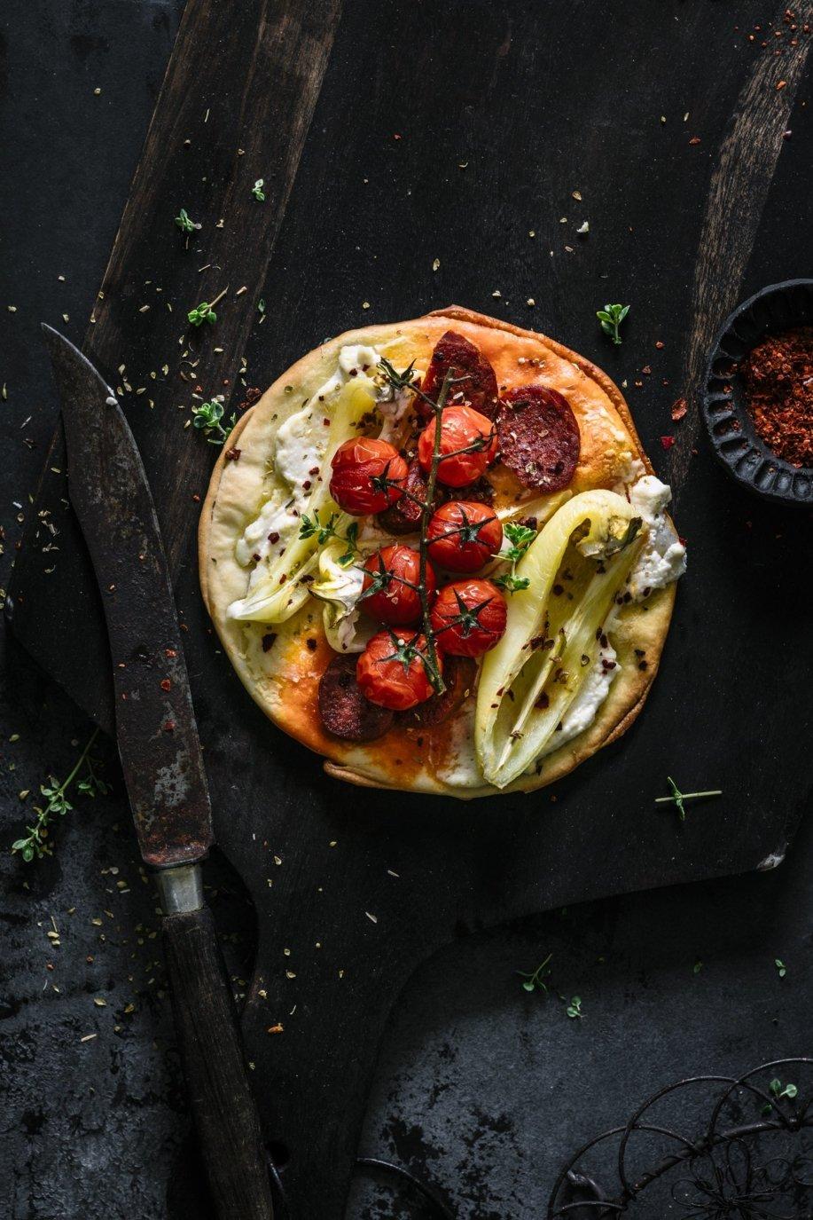 Pizza Turkish Style