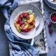 Peach Melba Breakfast Bowl