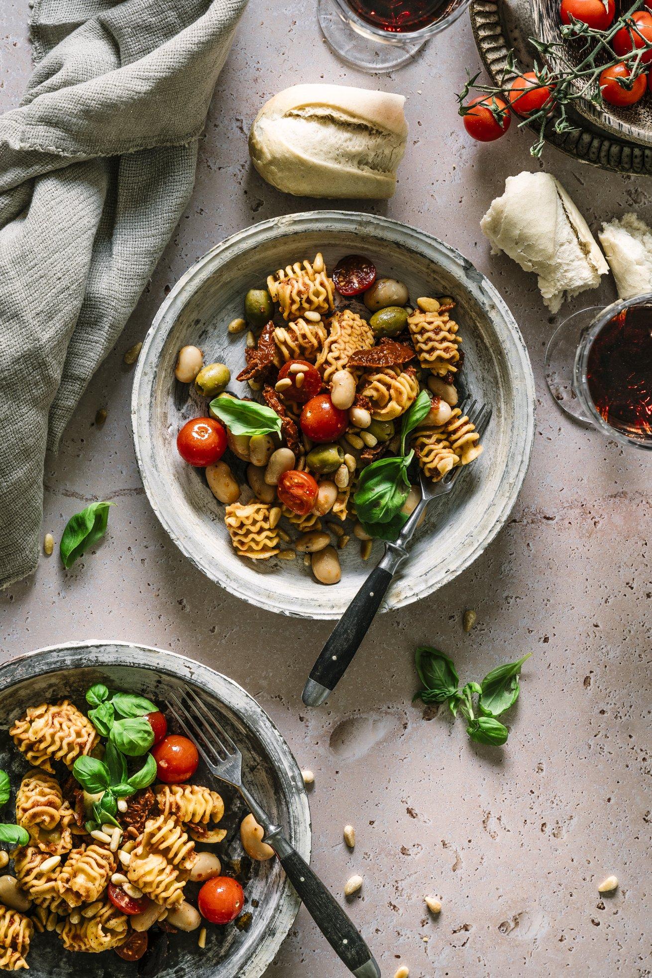 Nudelasalat italienisch