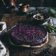 Holunderbeeren Cheesecake