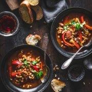 Deftiger Bohneneintopf mit Chorizo