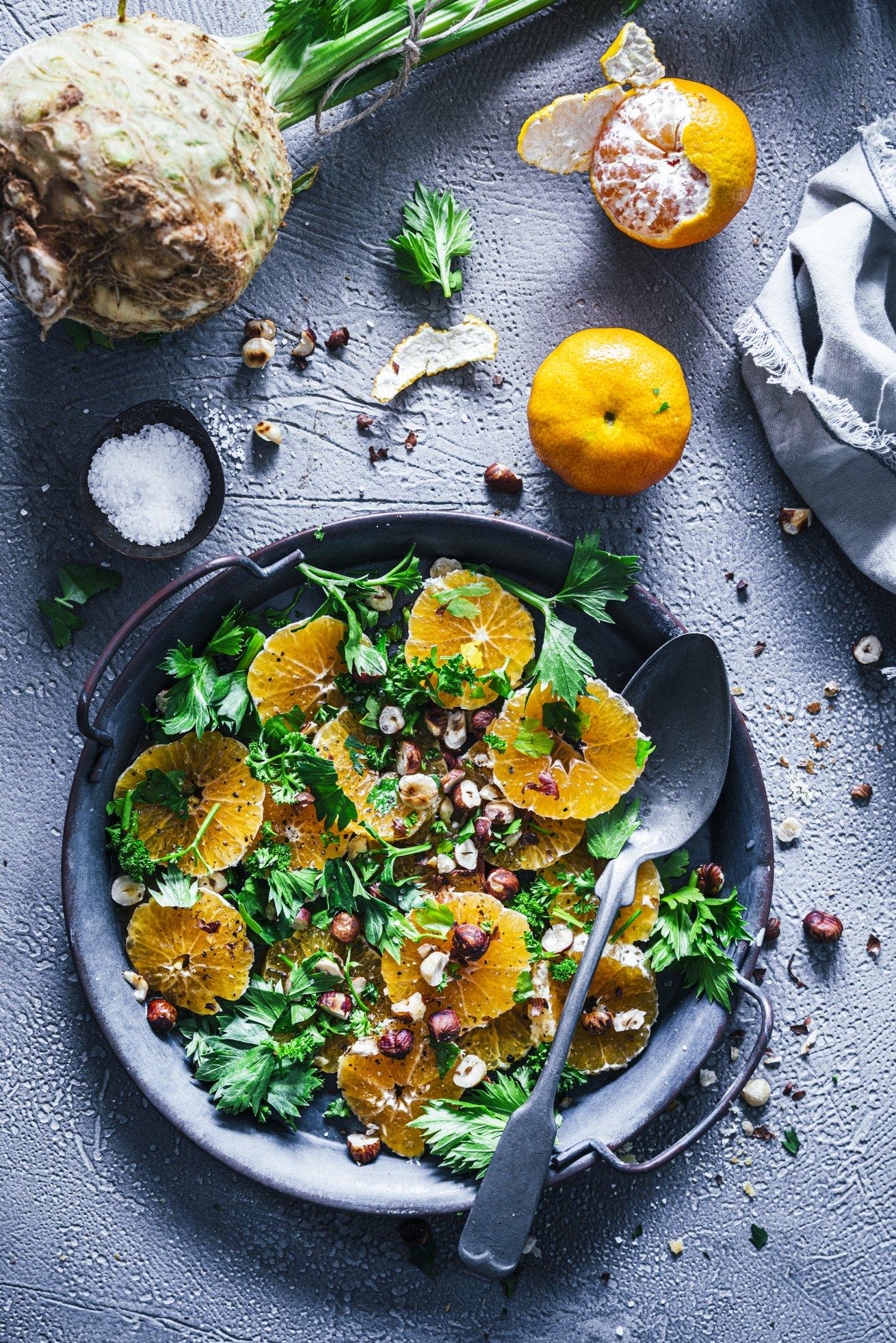 Clementinen Salat