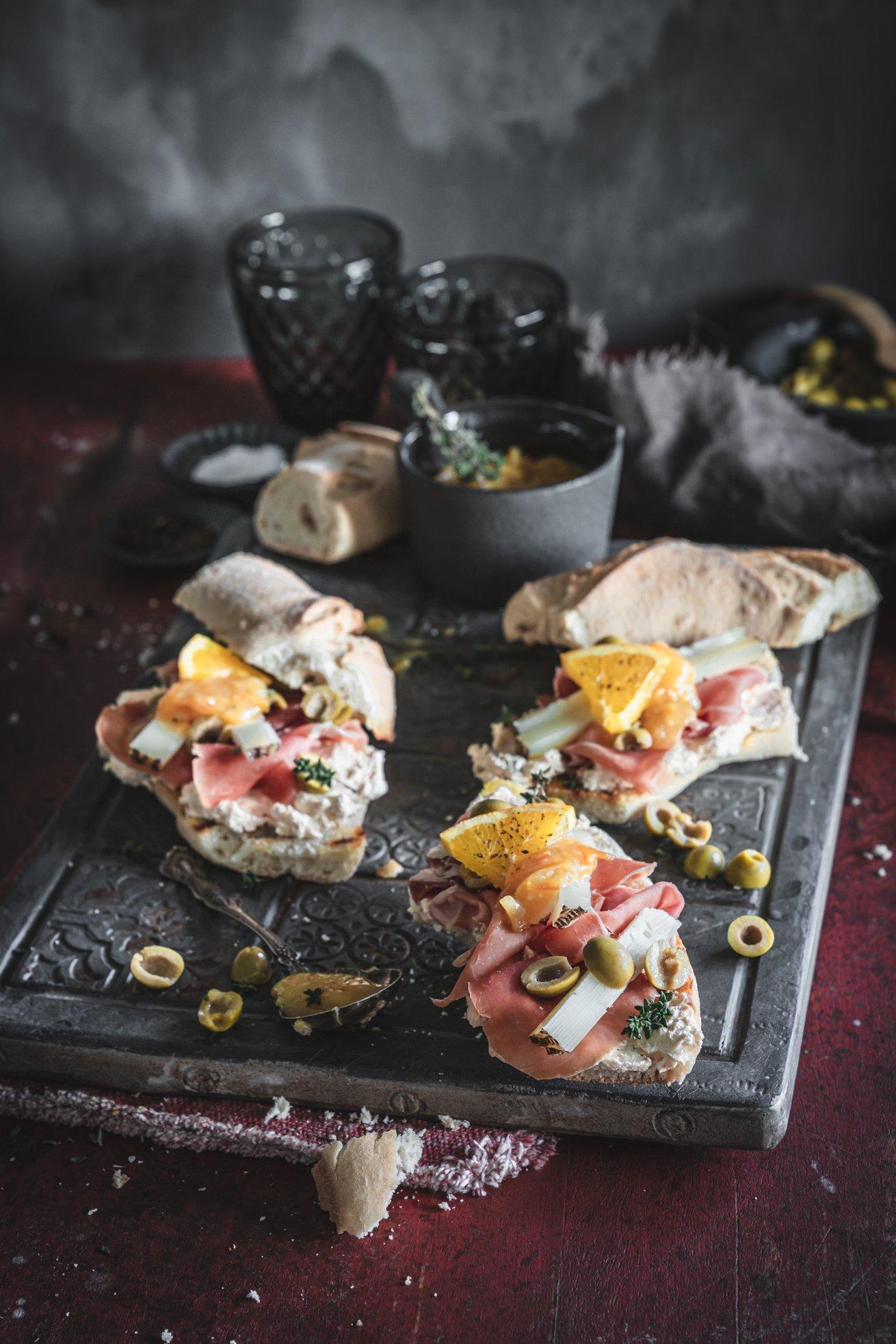 Serrano Schinken Sandwich