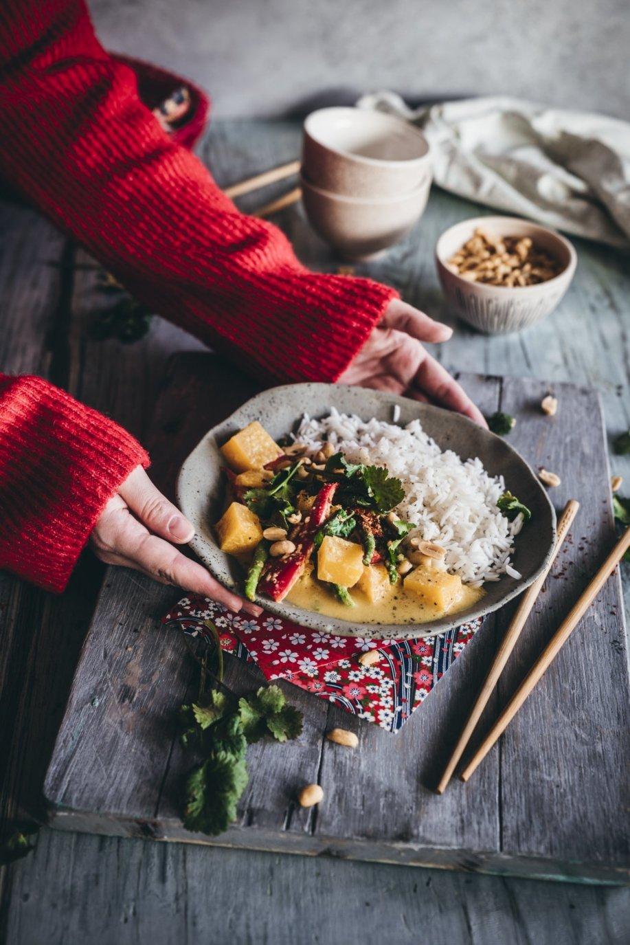 Thai Steckrüben Curry