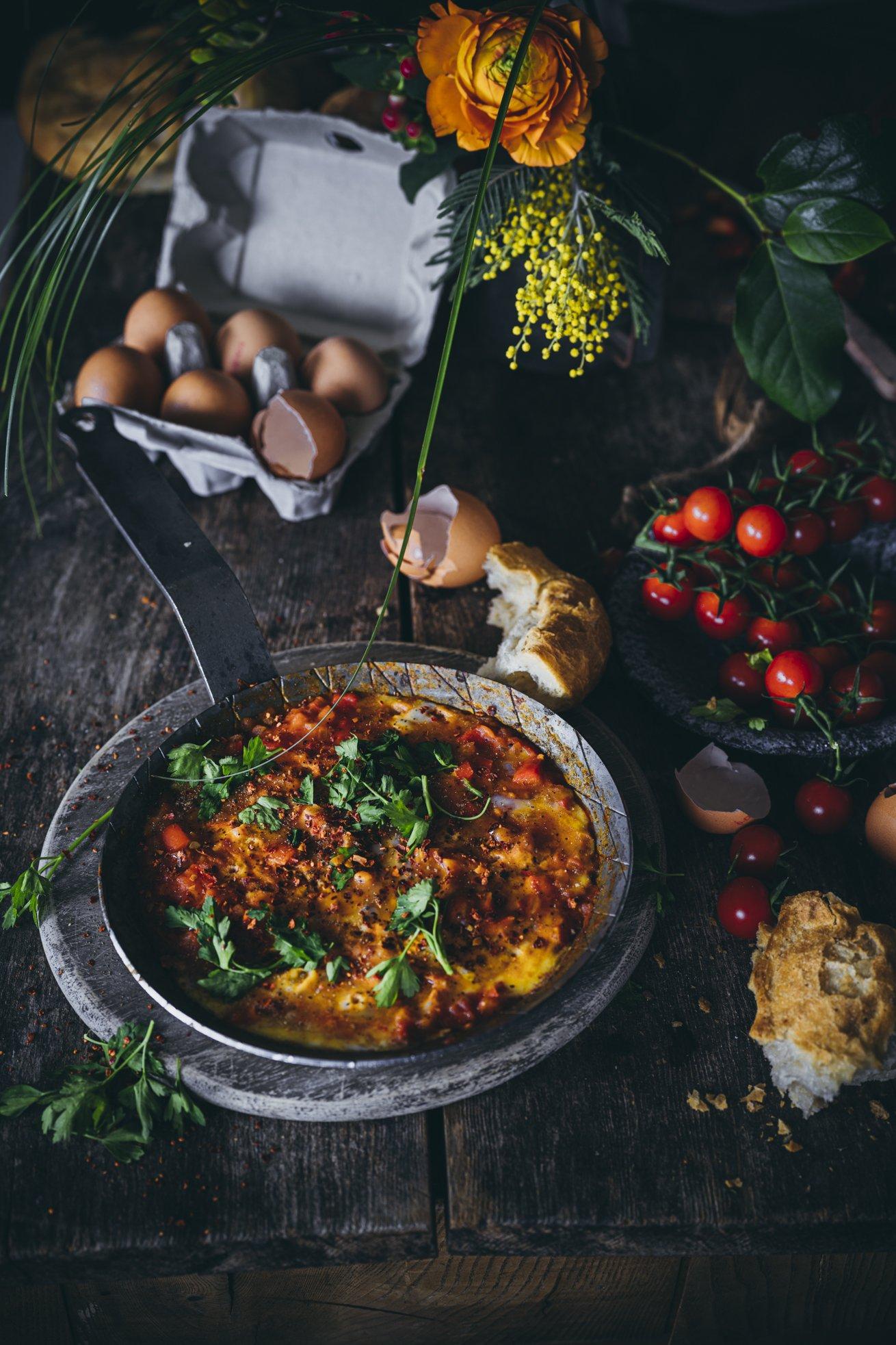 Türkisches Frühstück Menemen