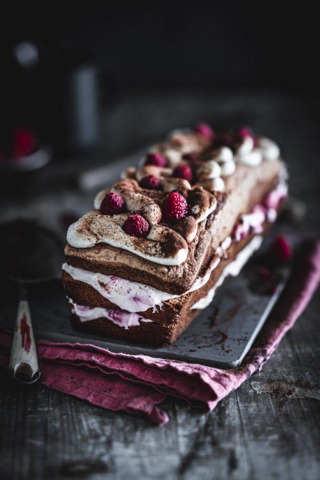 Himbeer Tiramisu Kuchen