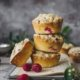 Easypeasy Muffins mit Himbeeren und Streuseln
