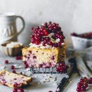 Johannisbeer Kokos Kuchen