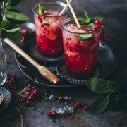 Frisch gemixt. Rezept für unseren Lieblings Sommer Cocktail. Johannisbeer Mojito