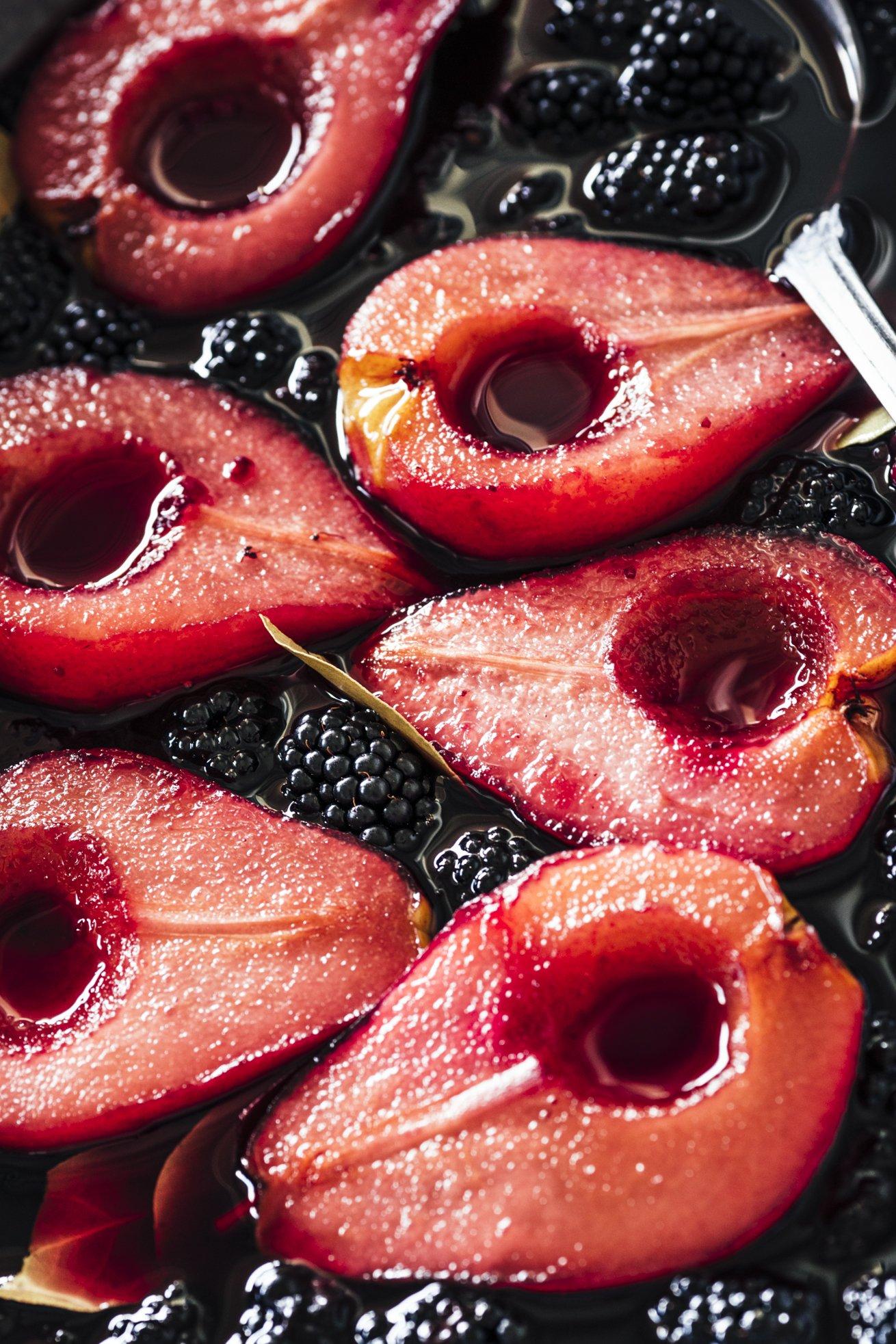 Rezept für pochierte Birnen