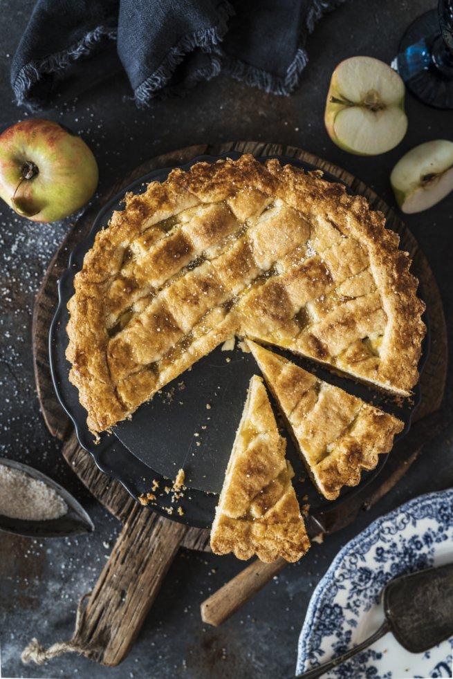 Gedeckter Apfelkuchen nach Omas Rezept