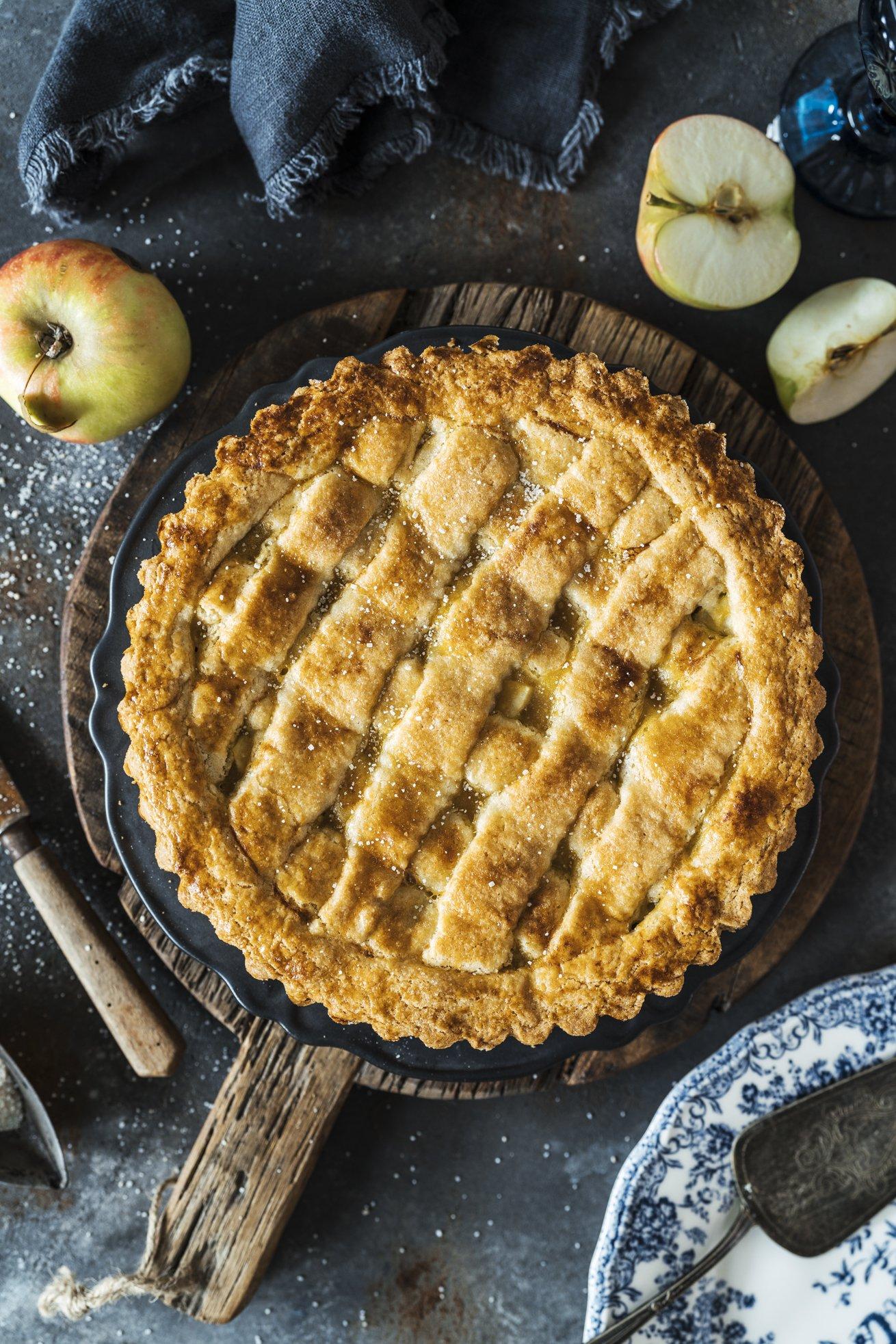 Gedecker Apfelkuchen wie vom Bäcker
