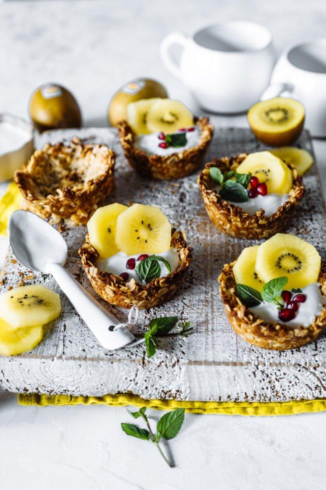 Gesundes Frühstücks Rezept: Granola Cups