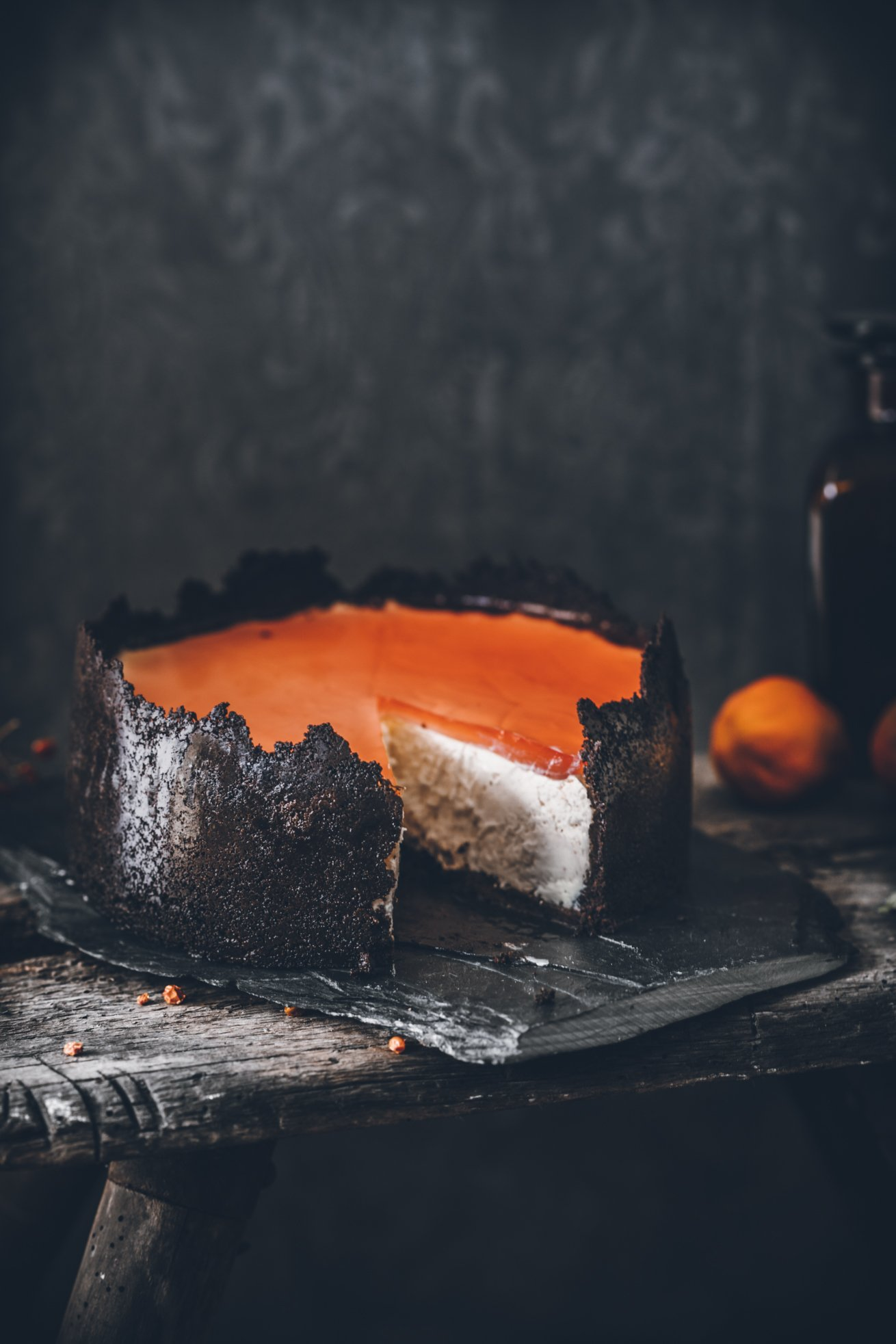 Spooky Halloween Cheesecake