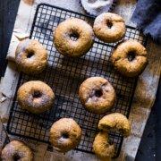 Kürbis Donuts mit Pumpkin Spice