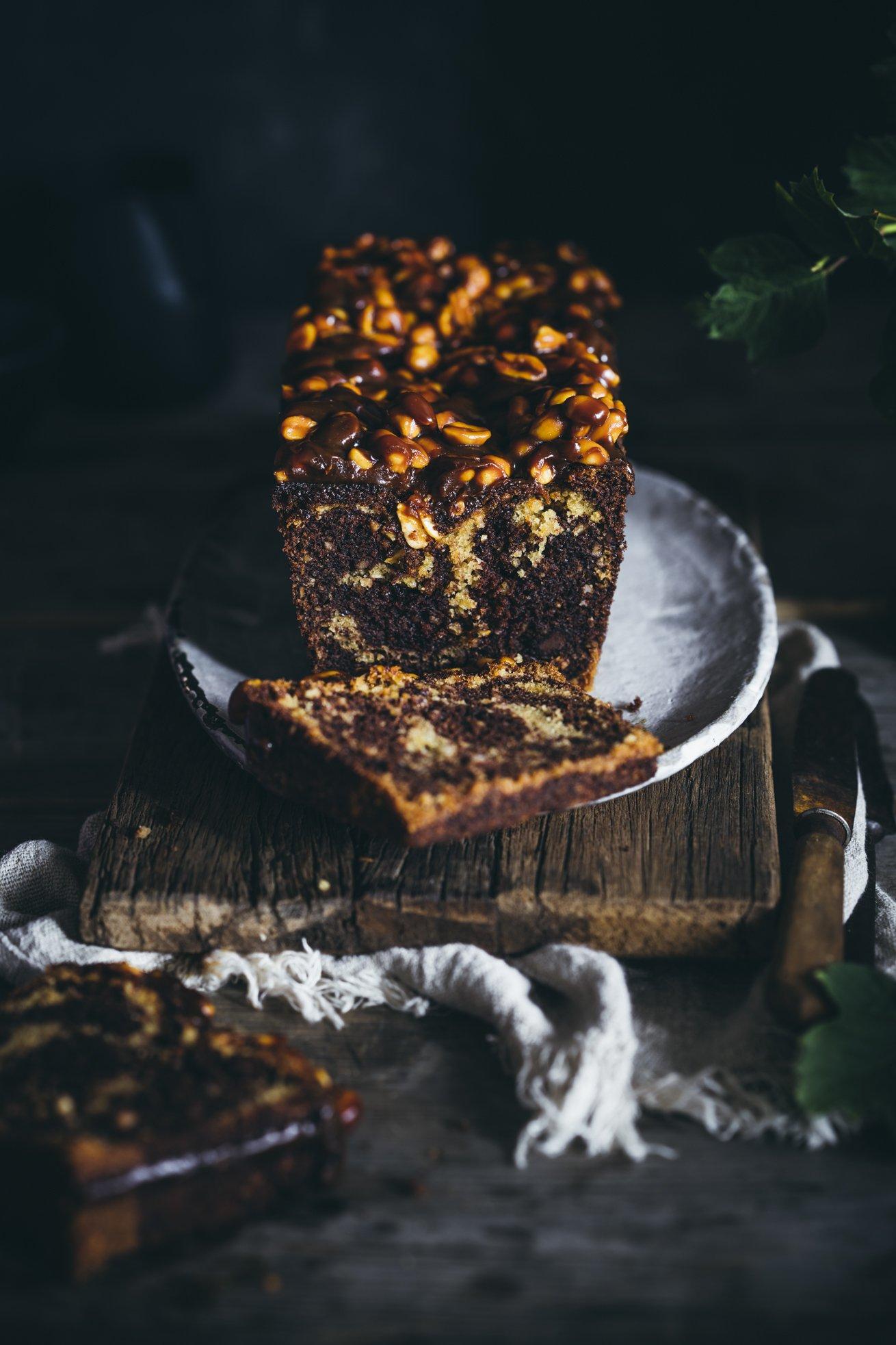 Saftiger Erdnussbutter Kuchen