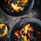 Halloween Pasta mit Kürbis