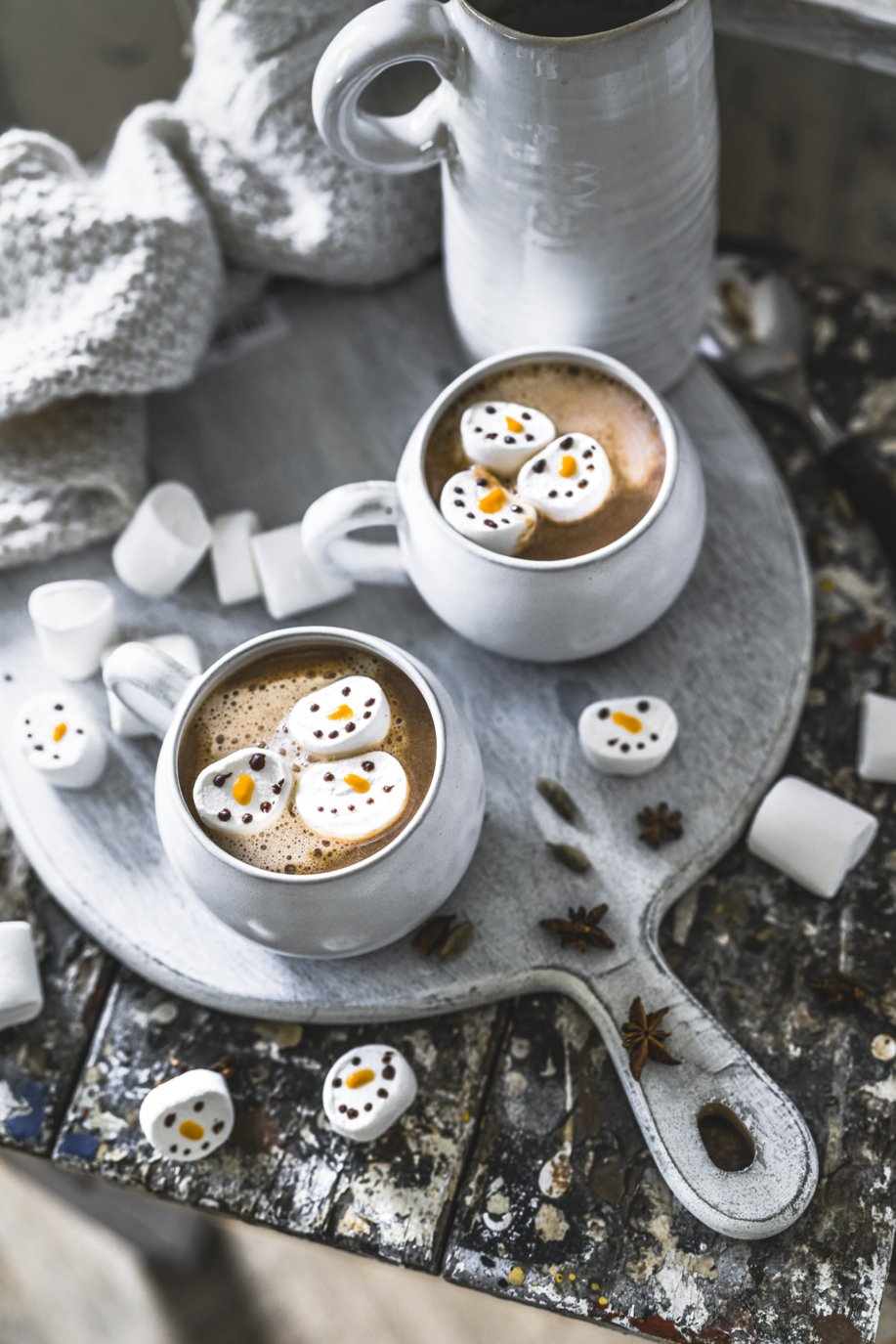 Chai Latte Hot Chocolate