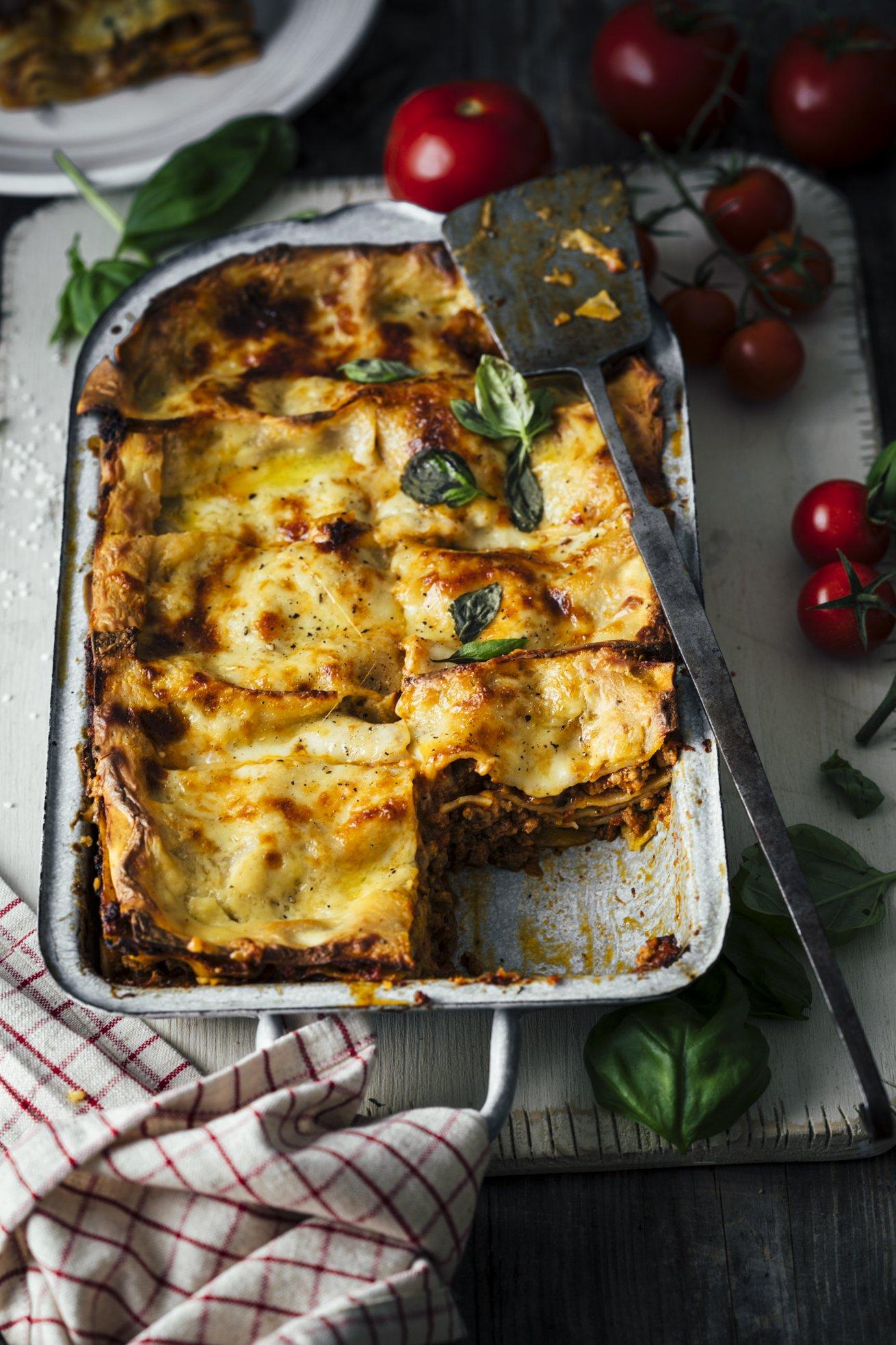 Papi Tausendschöns Lasagne Bolognese