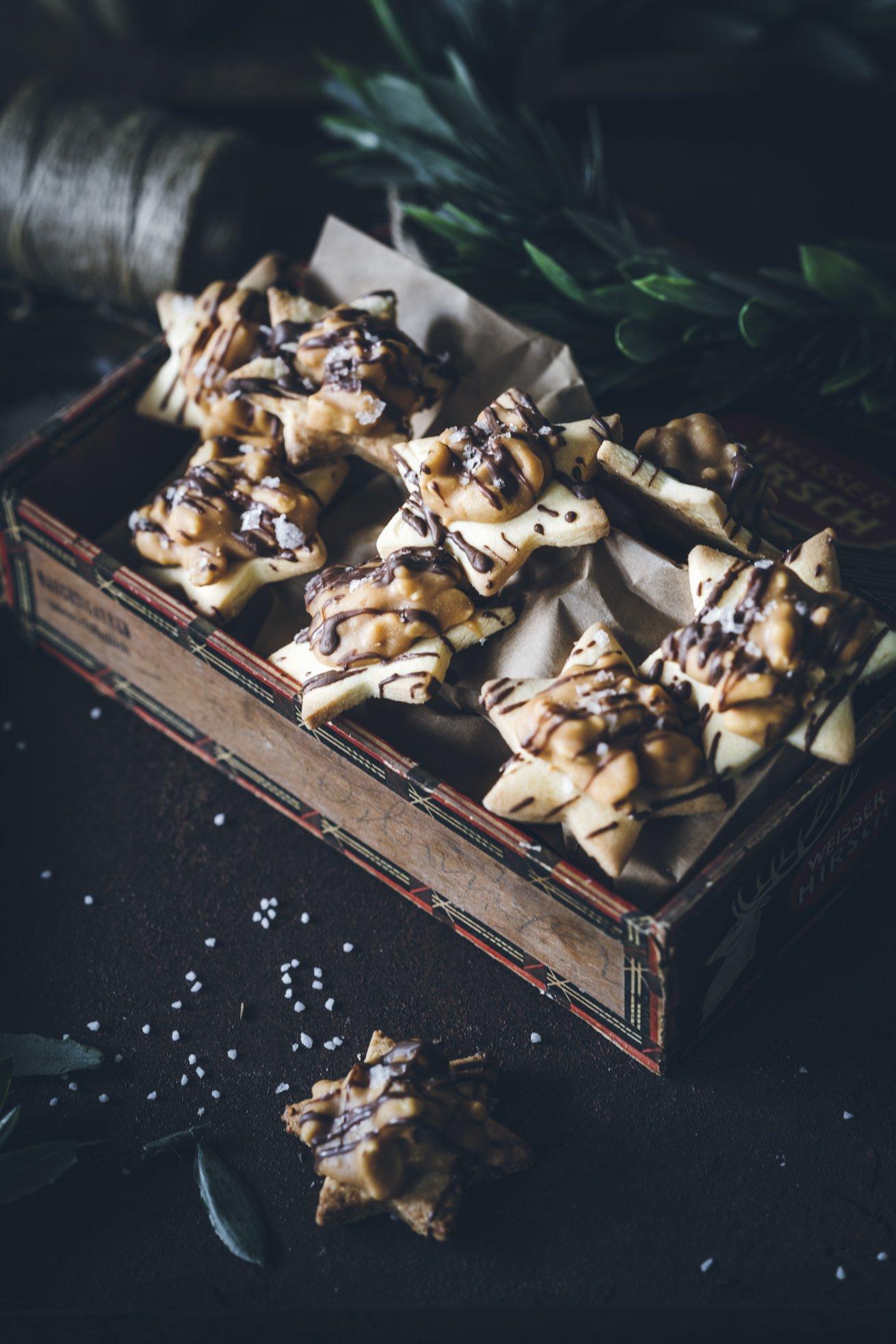 Bestes Rezept für Erdnuss Karamell Kekse