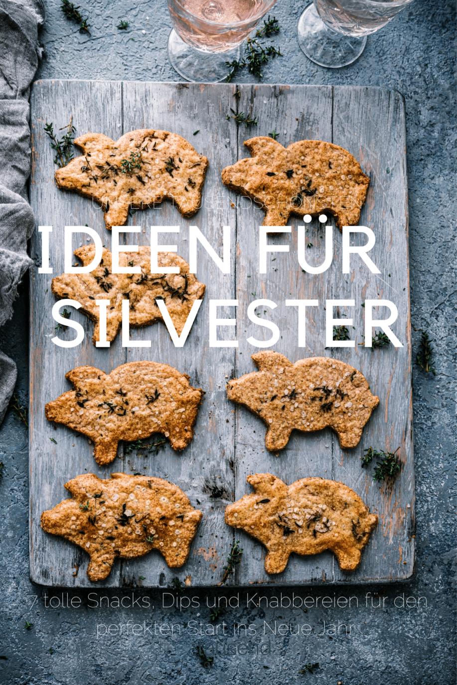 Tolle Dips, Knabbereien und Snacks für Silvester Rezept